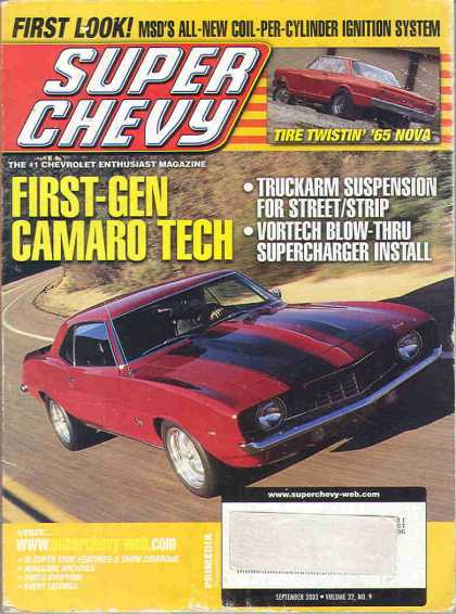 Super Chevy - September 2003