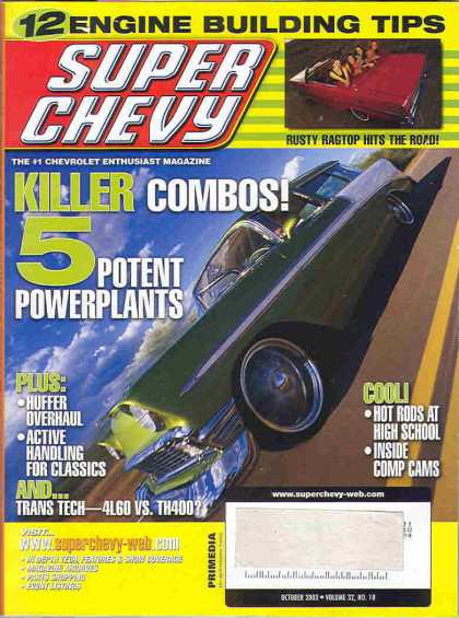 Super Chevy - October 2003
