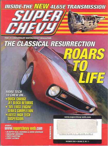 Super Chevy - November 2003