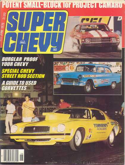 Super Chevy - June 1976