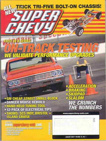 Super Chevy - January 2004