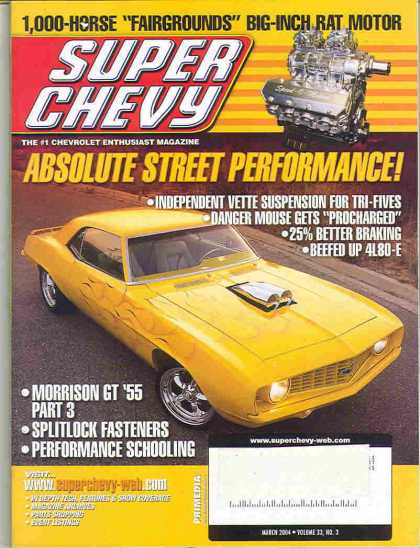 Super Chevy - March 2004
