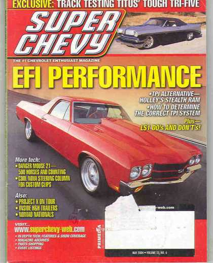 Super Chevy - May 2004