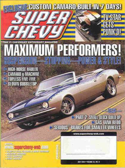 Super Chevy - July 2004