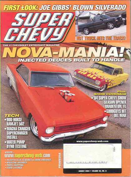 Super Chevy - August 2004