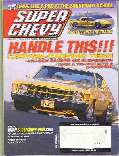 Super Chevy - October 2004