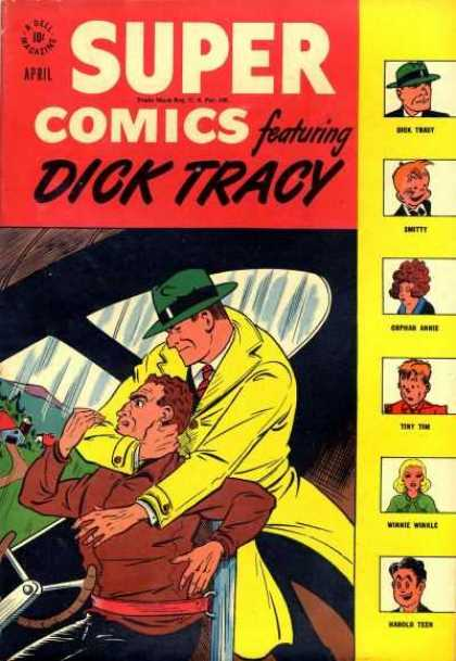 Super Comics 107 - Dick Tracy - April - Emitty - Tiny Tim - Karole Teen