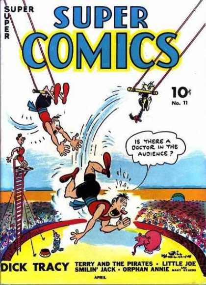 Super Comics 11 - Fighting - People - Waters - Clouds - Rod