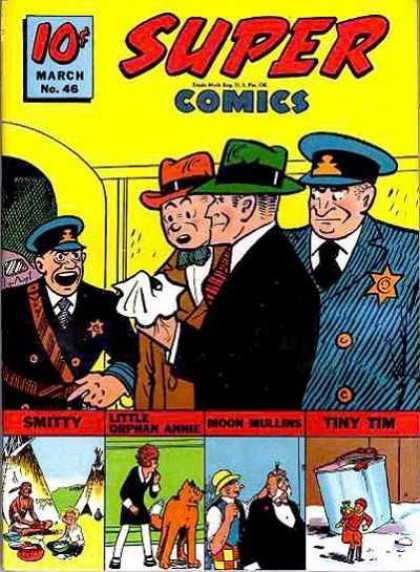 Super Comics 46 - Mystery Story - Criminal - Police - Criminal Investigation Department - Thrilling