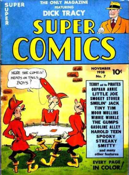 Super Comics 7 - Smiling Jack - Smitty - Moon Mullins - Spooky - Streaky