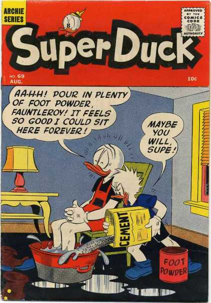 Super Duck 69 - Duck - Cement - Pall - Foot Powder - Water