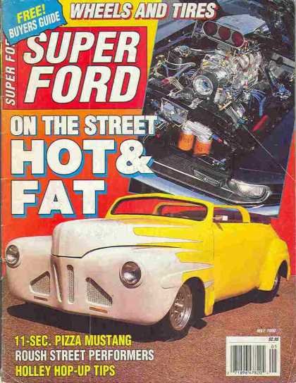 Super Ford - May 1990