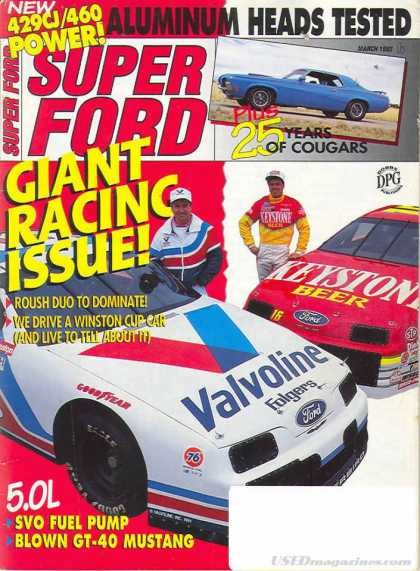Super Ford - March 1992
