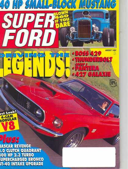 Super Ford - August 1992