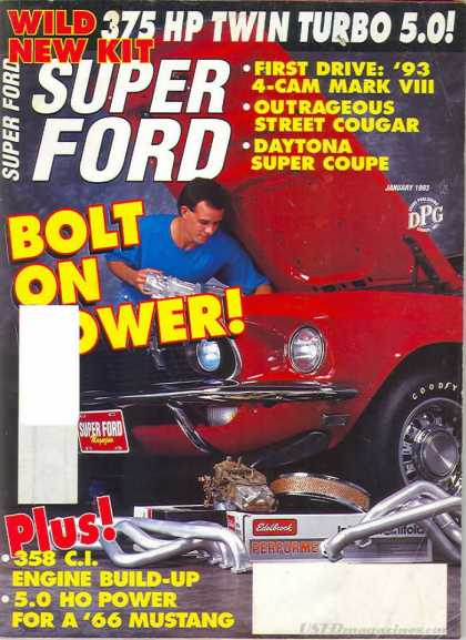 Super Ford - January 1993