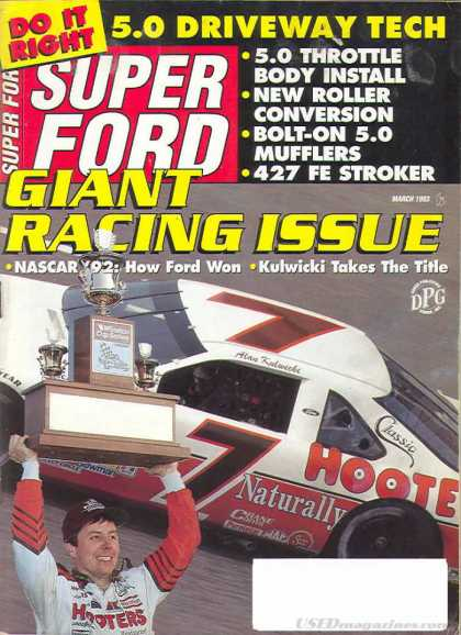 Super Ford - March 1993