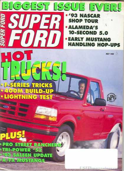Super Ford - May 1993