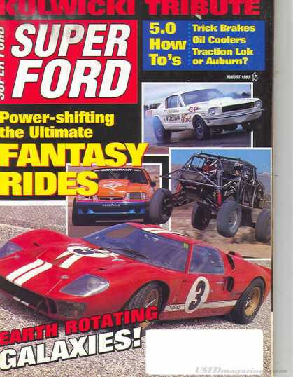 Super Ford - August 1993