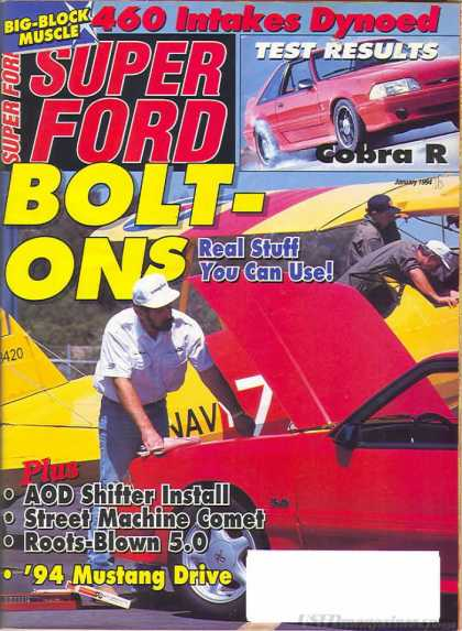 Super Ford - January 1994