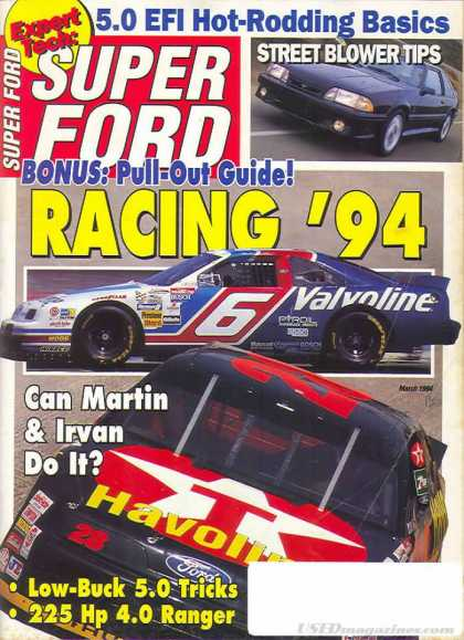 Super Ford - March 1994