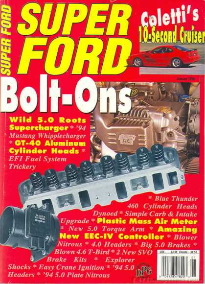 Super Ford - January 1995