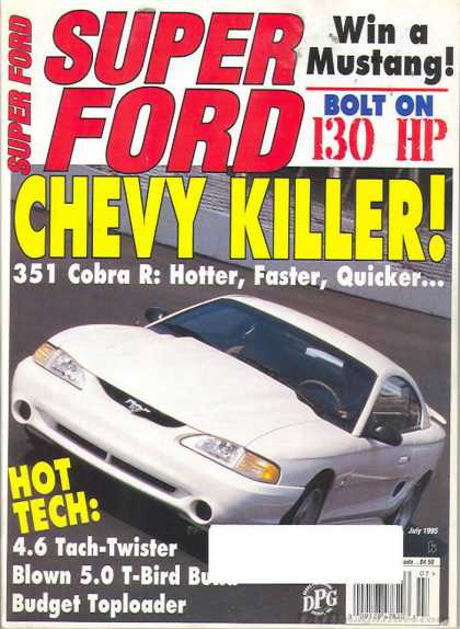 Super Ford - July 1995