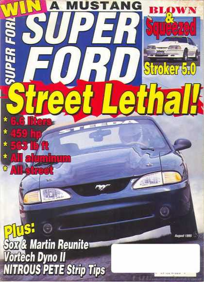 Super Ford - August 1995
