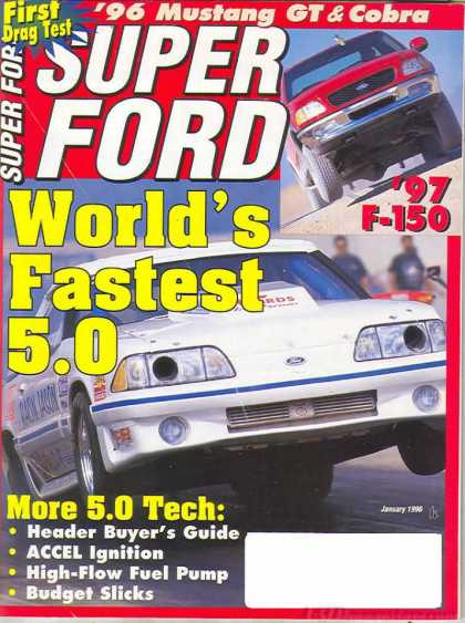 Super Ford - January 1996