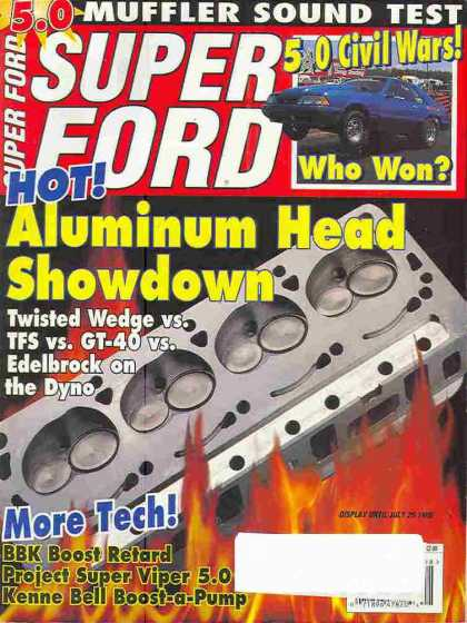Super Ford - August 1996