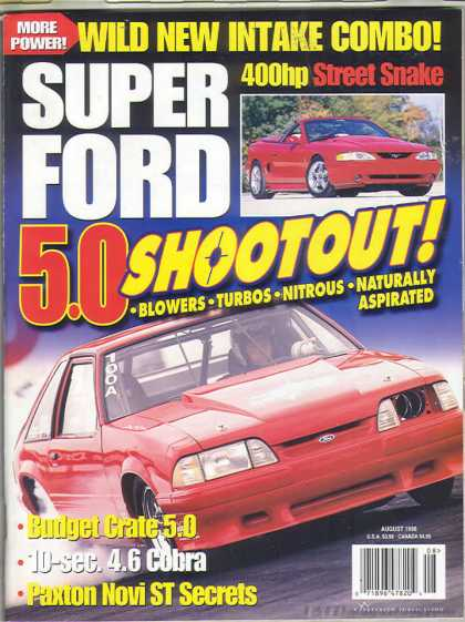 Super Ford - August 1998
