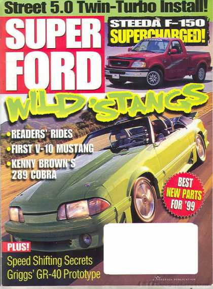 Super Ford - March 1999