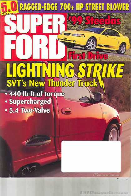 Super Ford - May 1999