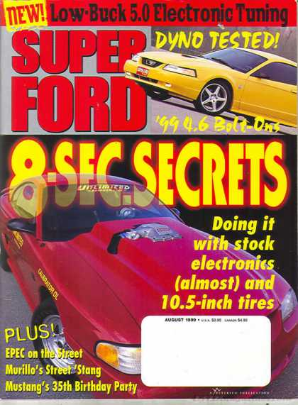 Super Ford - August 1999