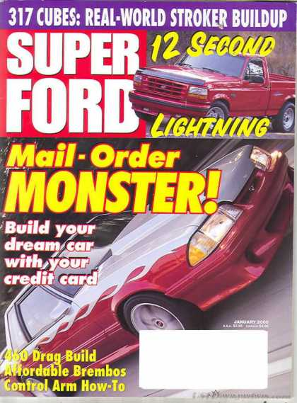 Super Ford - January 2000