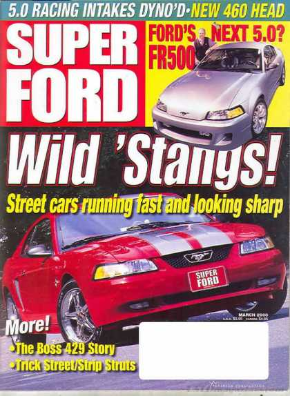 Super Ford - March 2000
