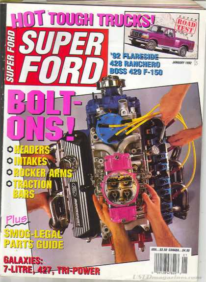 Super Ford - January 1992