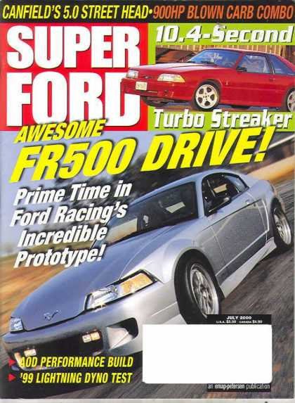 Super Ford - July 2000