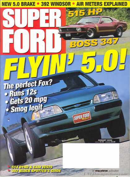 Super Ford - August 2000