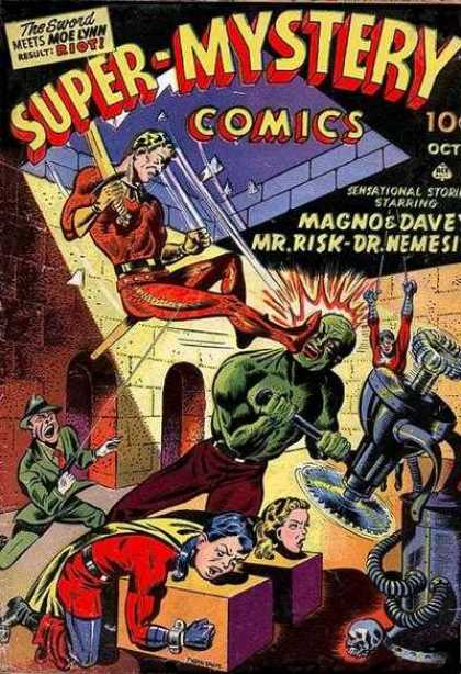 Super-Mystery Comics 18 - Magno - Davey - Mr Risk - Dr Nemesis - Prisoners