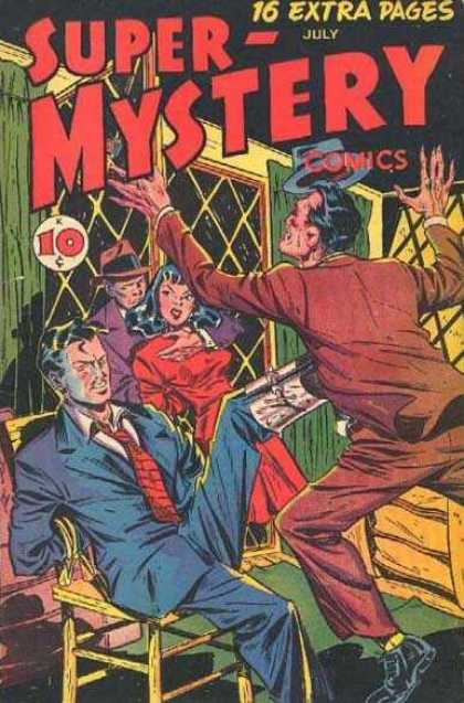 Super-Mystery Comics 36 - Window - House - Men - Woman - Chair
