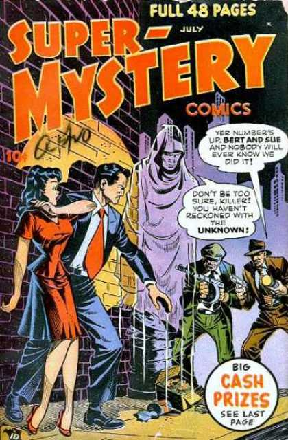 Super-Mystery Comics 42 - Guns - Ghost - Super Mystery Comics - Bert And Sue - Unknown