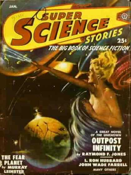 Super Science Stories 10