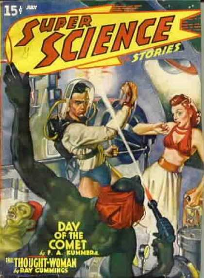 Super Science Stories 4