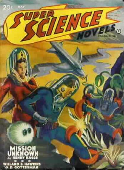Super Science Stories 6