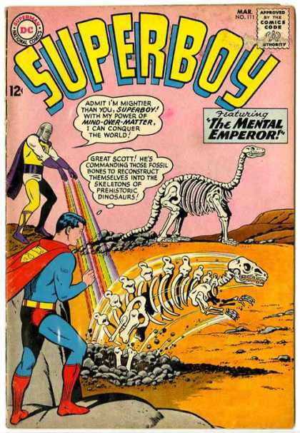 Superboy 111 - Great Scott - Dinosaurs - Curt Swan