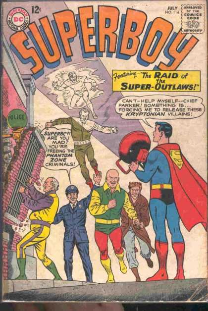 Superboy 114 - Super-outlaws - Curt Swan