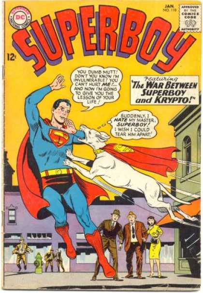 Superboy 118 - Dog - Superman - Krypto - Yellow - Curt Swan, Sheldon Moldoff