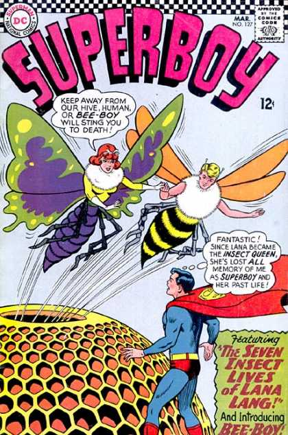 Superboy 127 - Bee-boy - Hive - Curt Swan