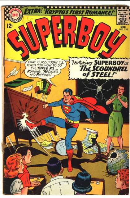 Superboy 134 - Desk - Curt Swan