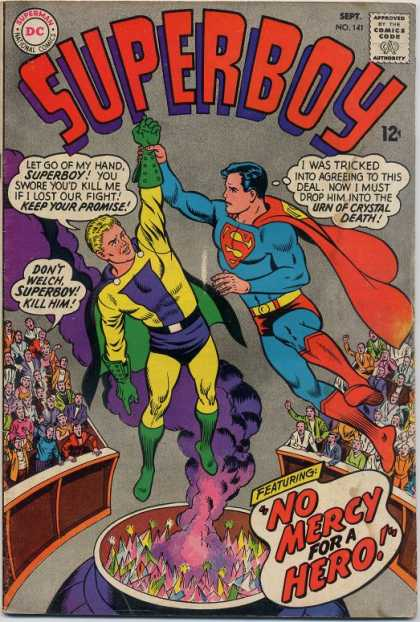 Superboy 141 - Crowd - Curt Swan